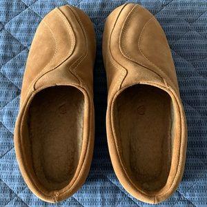 Acorn slippers never worn